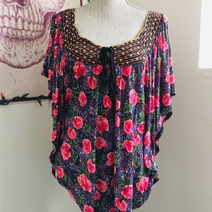 Ric Rac Anthropologie brand blouse.